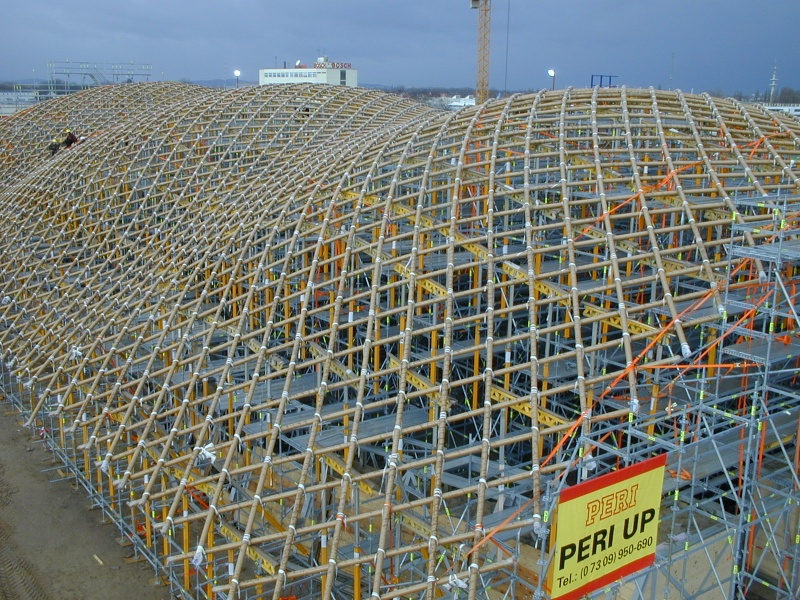 Expo Hannover 2000 Gerüstbau