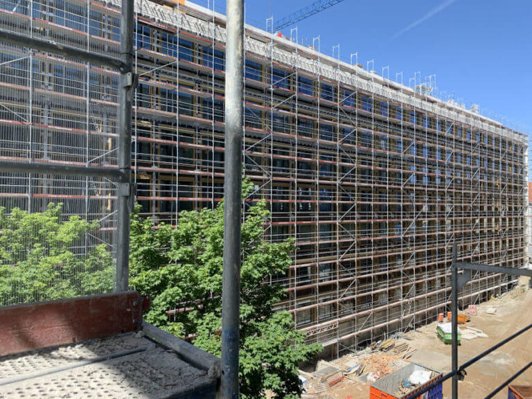 MN Gerüstbau Fassade