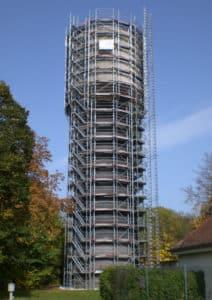 Gerüstbau Wasserturm